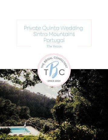 2. Photos - Portugal - Private Quinta Wedding - Sintra