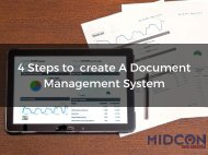 4 Steps to create A Document Management System