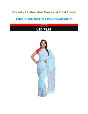 Trendy_Chikankari_Saree_At_Best_Price