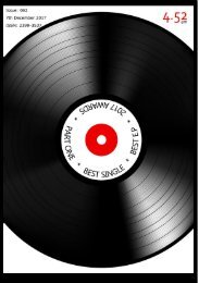 4.52am Issue: 062 7th December 2017 - The Best Single & E.P Awards One