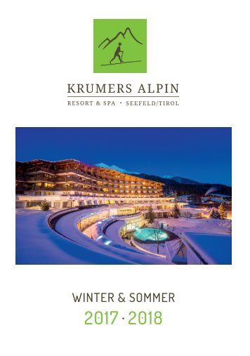Krumers Alpin Resort | Magazin Deutsch 2017/2018