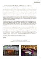 Krumers Alpin Resort | Magazin Deutsch 2017/2018 - Page 3
