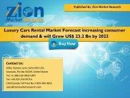 Luxury Cars Rental Market