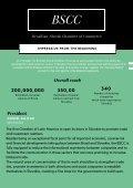 Brazlilian Slovak Chamber of Commerce  - Page 5
