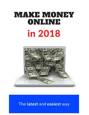 Make Money Online In 2018