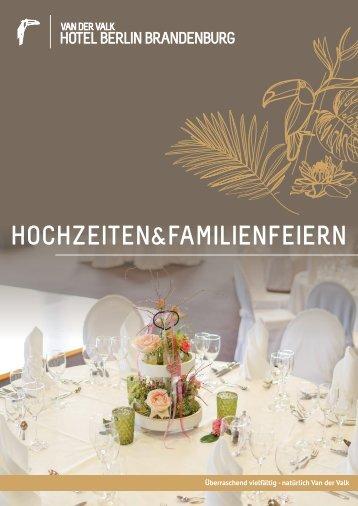 Hochzeiten und Familienfeiern im Van der Valk Hotel Berlin Brandenburg