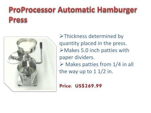 Meatball Machine | Hamburger Machine
