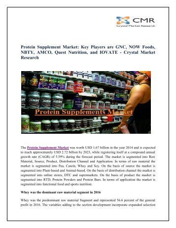 Protein Supplements Market
