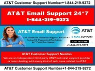 AT&T Customer Service Phone Number +1-844-219-9272