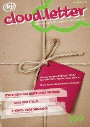 kj cloud.letter Ausgabe 6/ Dezember 2017