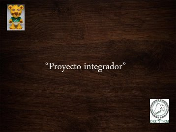 Proyecto integrador revista