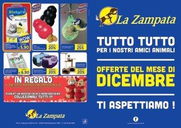 Volantino Offerte Dicembre Zampata