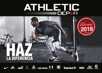 Catalogo 2018-1 Athletic Depor