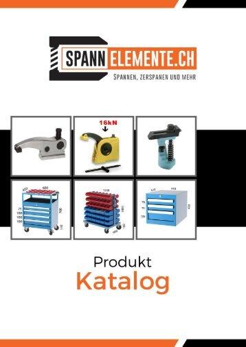 Spannelemente, Werkstatt- Betriebseinrichtung Katalog 2018
