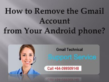 How to Remove the Gmail Account from Your Android phone?