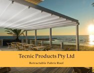 Install Waterproof Awnings for Your Outdoor Area