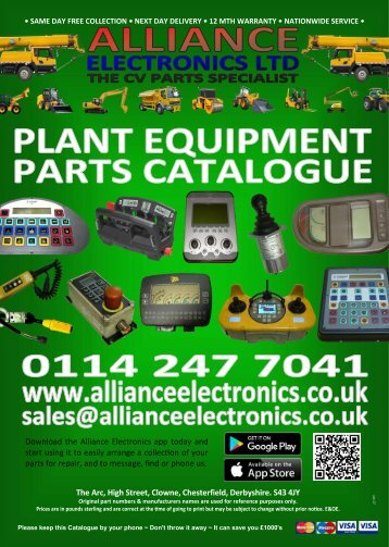 PLANT CATALOGUE 2018