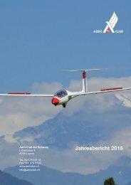 Aero-Club der Schweiz Jahresbericht  2016