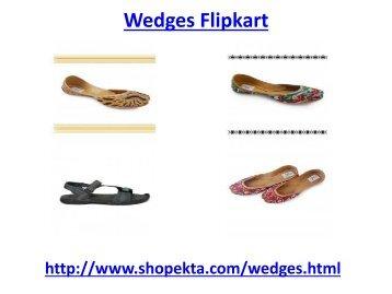Shop Online for awesome wedges at flipkart