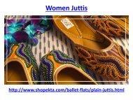 Buy online women juttis with best design