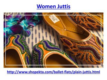 Buy online women juttis with best design