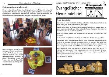 Gemeindebrief - 2017-06