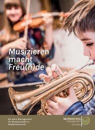 60 Jahre Management für Musikschulen in Niederösterreich