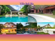 luxury villa in kerobokan