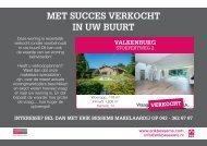 Erik Bessems Makelaardij, Verkocht flyer: Stoepertweg 2 Valkenburg