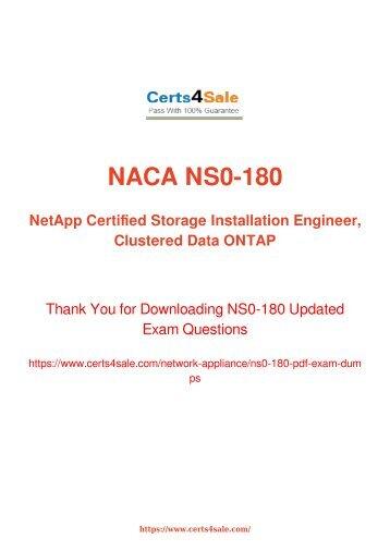 [2017] NS0-180 Exam Material - Network Appliance NS0-180 Dumps