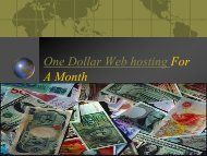 $1 web hosting-Godaddy $1 hosting Free A month
