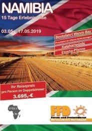 Namibia Rundreise 2019