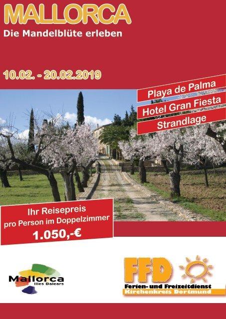 Mallorca Mandelblüte 2019