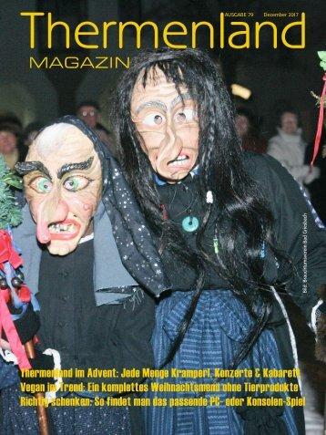 Thermenland Magazin Dezember 2017