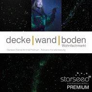 Starseed Premium Sternenhimmel