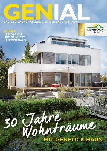 GENBÖCK HAUS Magazin Genial