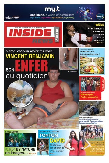 Inside News weekly # No 10 - 07 au 13 Décembre 2017