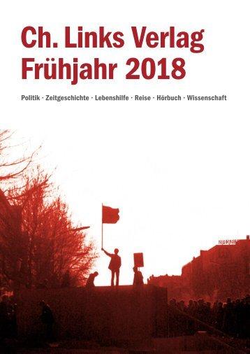 Ch. Links Vorschau Frühjahr 2018