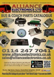 STANDARD BUS AND COACH CATALOGUE 2018
