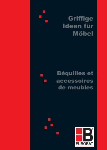 M öbelgriffe & K nöpfe - Hilger-interfer SA