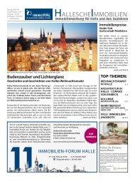 Hallesche Immobilienzeitung Ausgabe 69 Dezember 2017