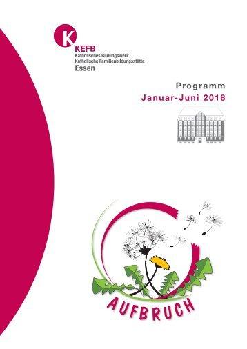 Essen @KEFB Bistum Essen Programm 1-18