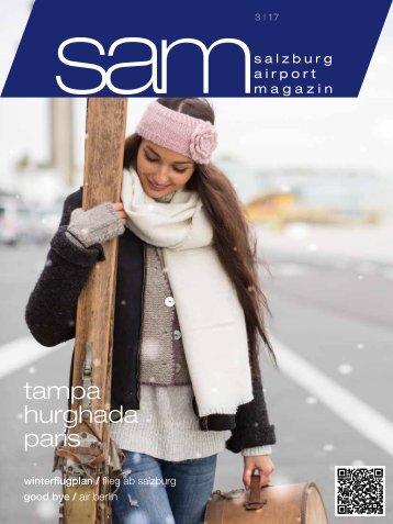 Salzburg Airport Magazin SAM 03-2017