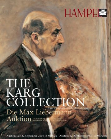 Die Max Liebermann Auktion