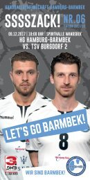 SSSSZACK! HGHB vs. TSV Burgdorf 2