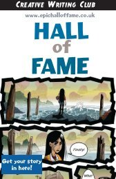 Hall of Fame Volume 16 from Creative Writing Club
