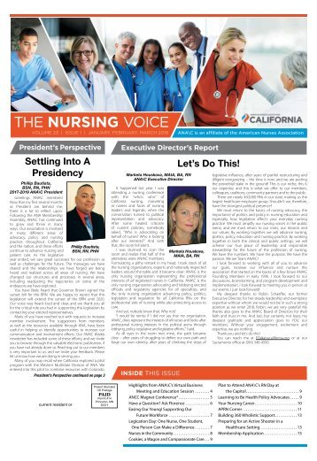 The Nursing Voice - January 2018