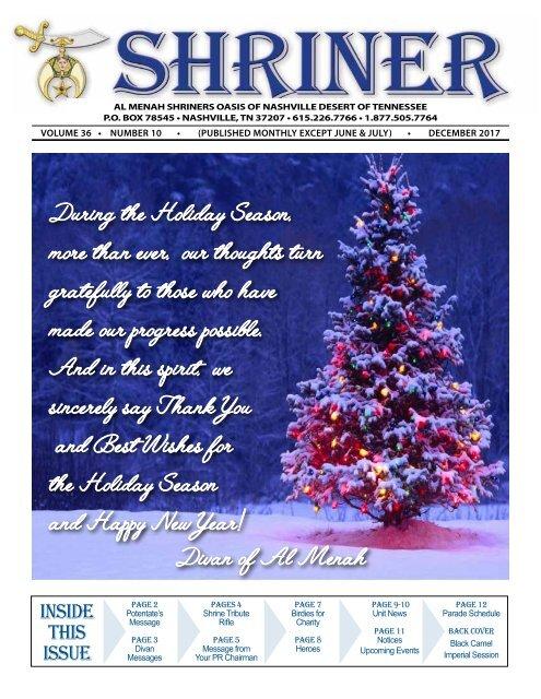 SHRINER DECEMBER 2017