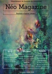Néo magazine - troisième numéro