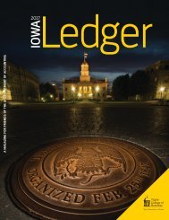 The Iowa Ledger (2017) - Tippie College of Business